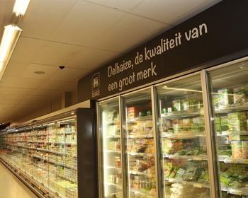 Delhaize Bloemmolens - Winkel