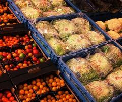Ruime keuze groenten bij AD Delhaize in Lier
